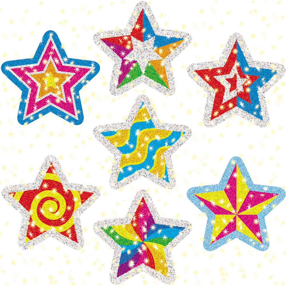 CD-2826 - Dazzle Stickers Star Power 75-Pk in Stickers