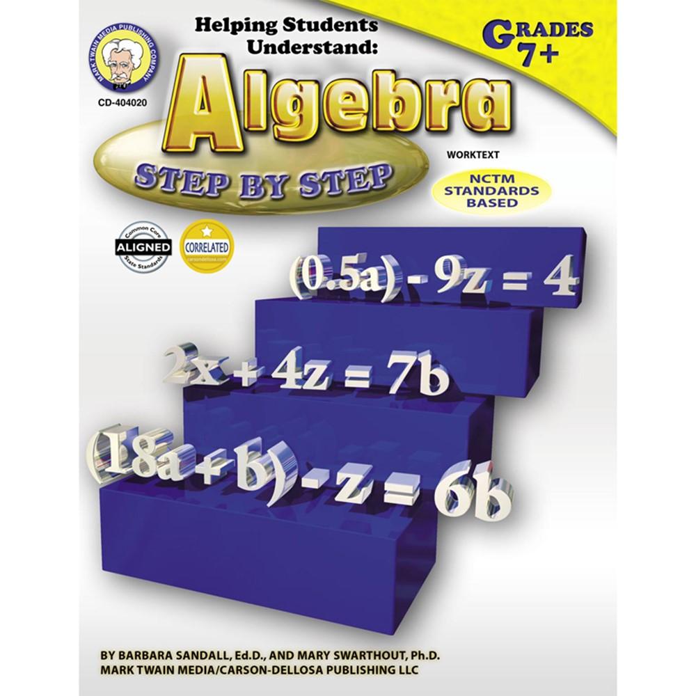 Helping Students Understand Algebra Resource Book, Grade 7-12, Paperback