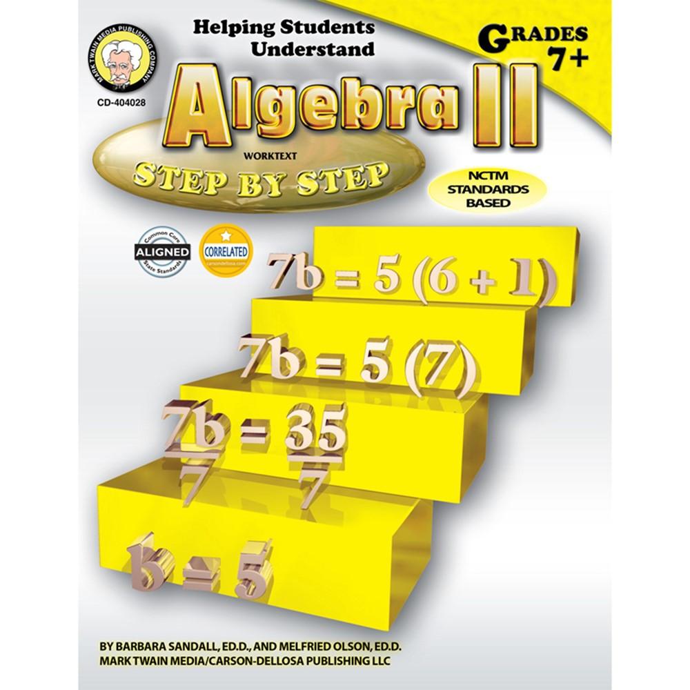 CD-404028 - Helping Students Understand Algebra Ii in Algebra