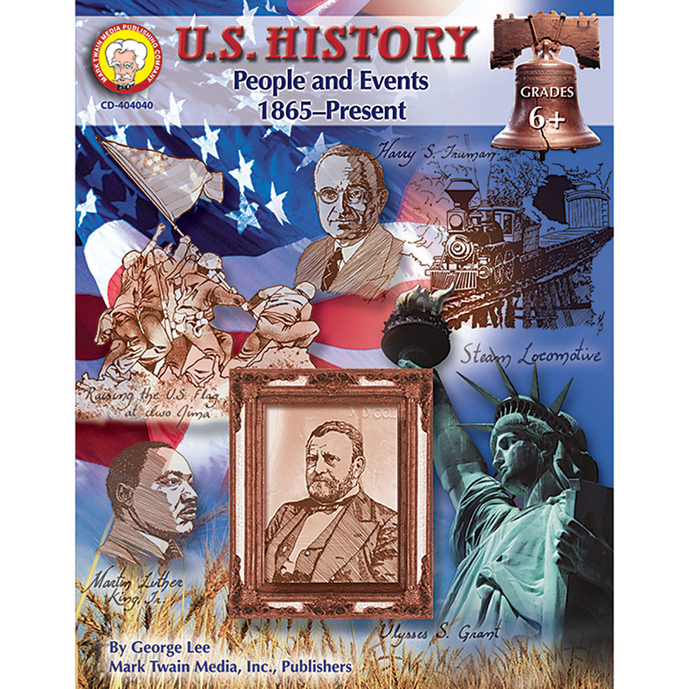 CD-404040 - Us History People & Events 1865- Present Gr 6 & Up in History