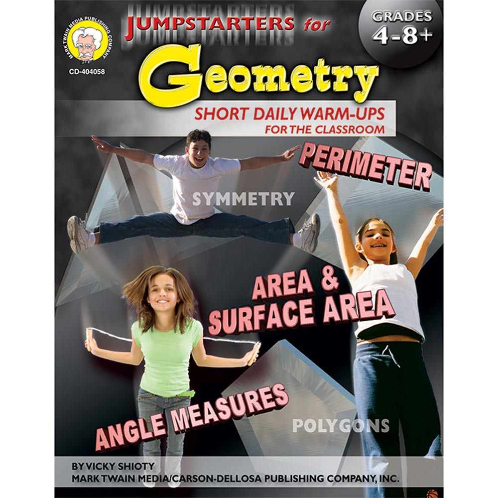 CD-404058 - Jumpstarters For Geometry Books Math 4-8& Up in Geometry