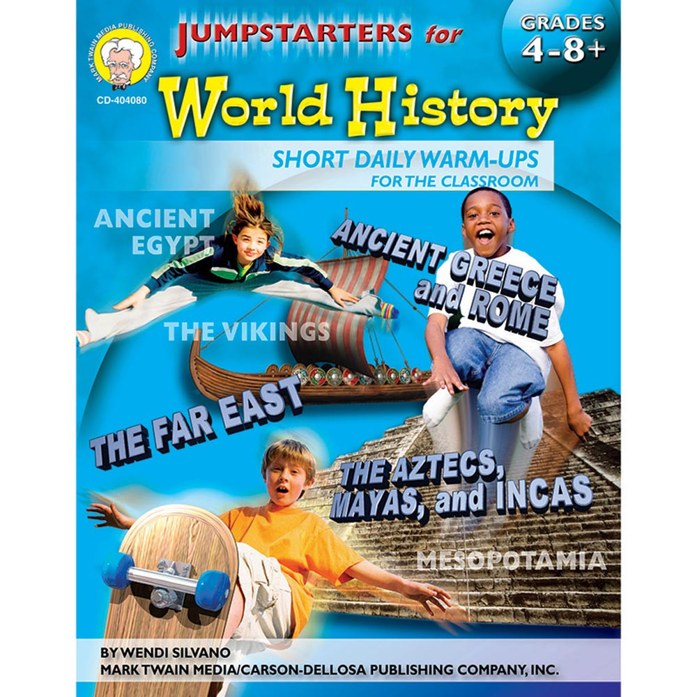 CD-404080 - Jumpstarters For World History in History