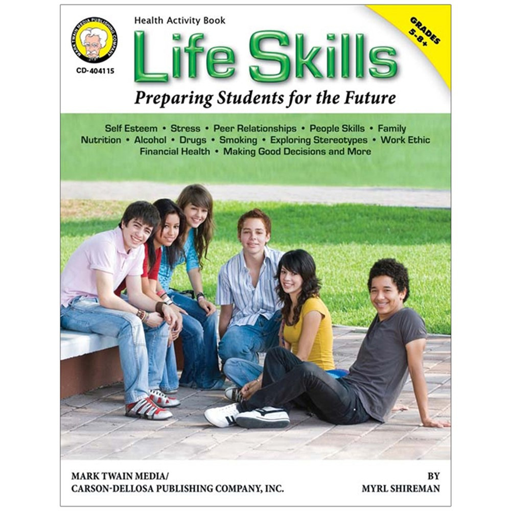 CD-404115 - Life Skills Preparing Students For The Future Revised Book Gr 5-8 in Self Awareness