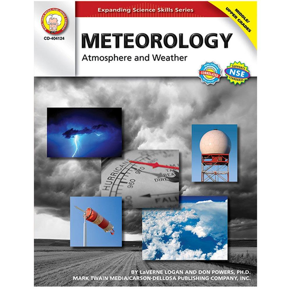 CD-404124 - Meteorology Atmosphere & Weather Gr 5-8 in Weather