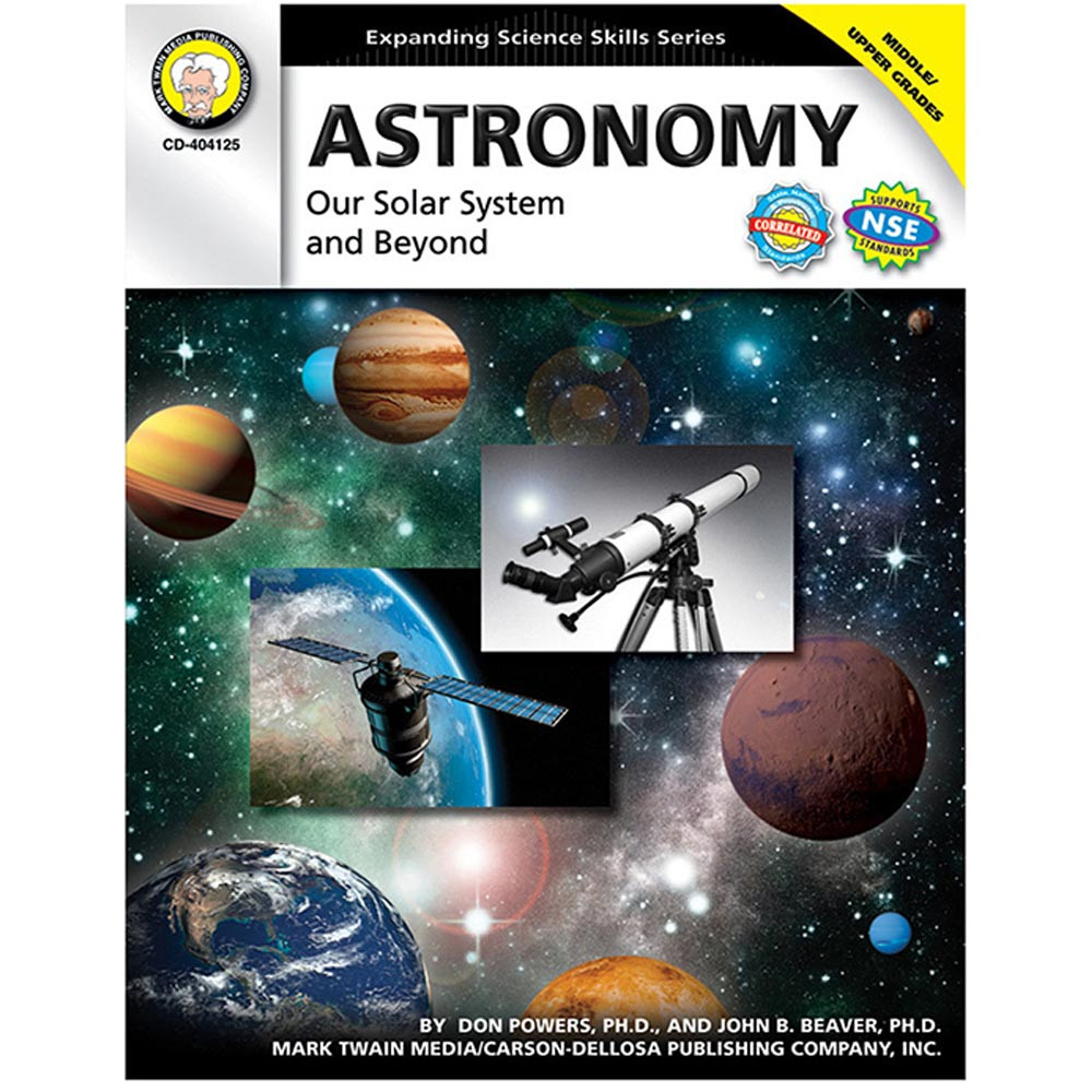 CD-404125 - Astronomy Our Solar System & Beyond Gr 5-8 in Astronomy