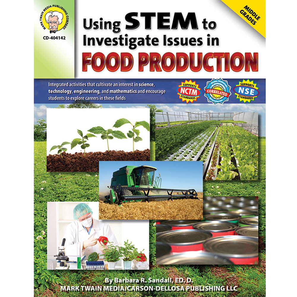 CD-404142 - Using Stem To Investigate Issues In Food Production in Health & Nutrition