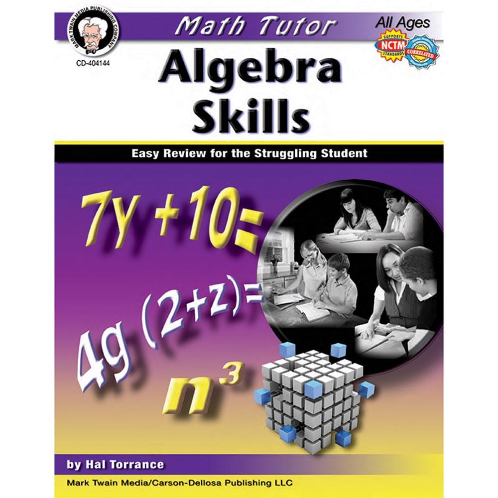 CD-404144 - Math Tutor Algebra in Algebra