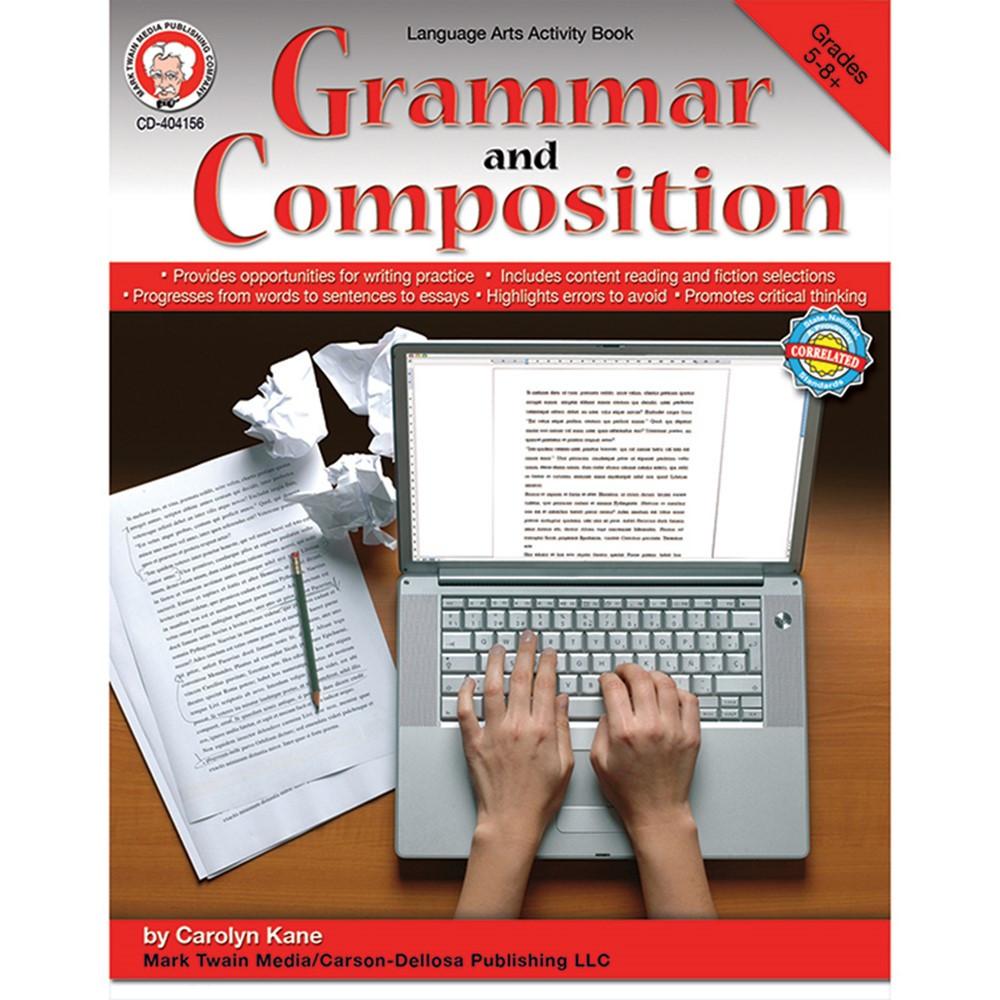 CD-404156 - Grammar And Composition Gr 5-8 in Grammar Skills