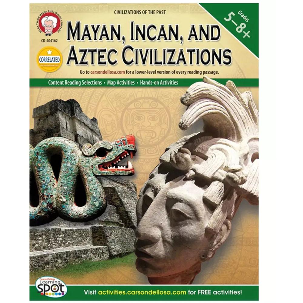 CD-404162 - Mayan Incan And Aztec Civilizations in Cultural Awareness