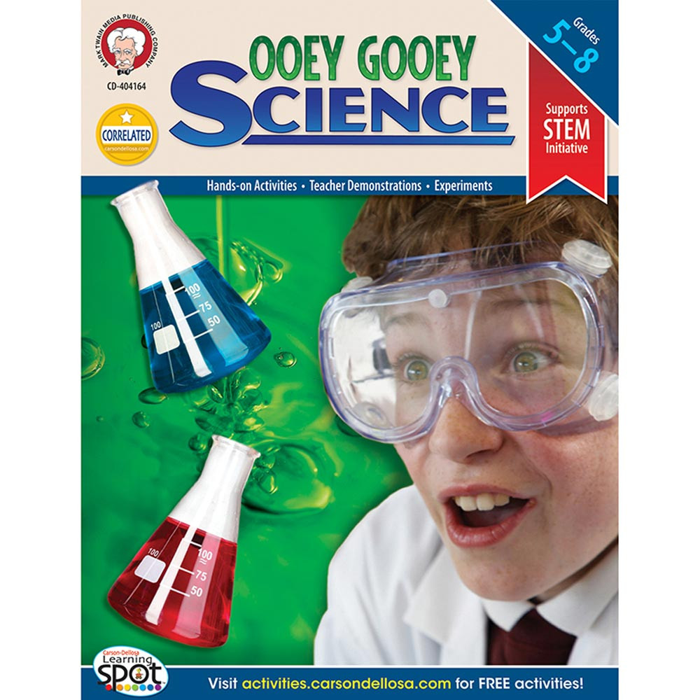 CD-404164 - Ooey Gooey Science Investigations in Experiments