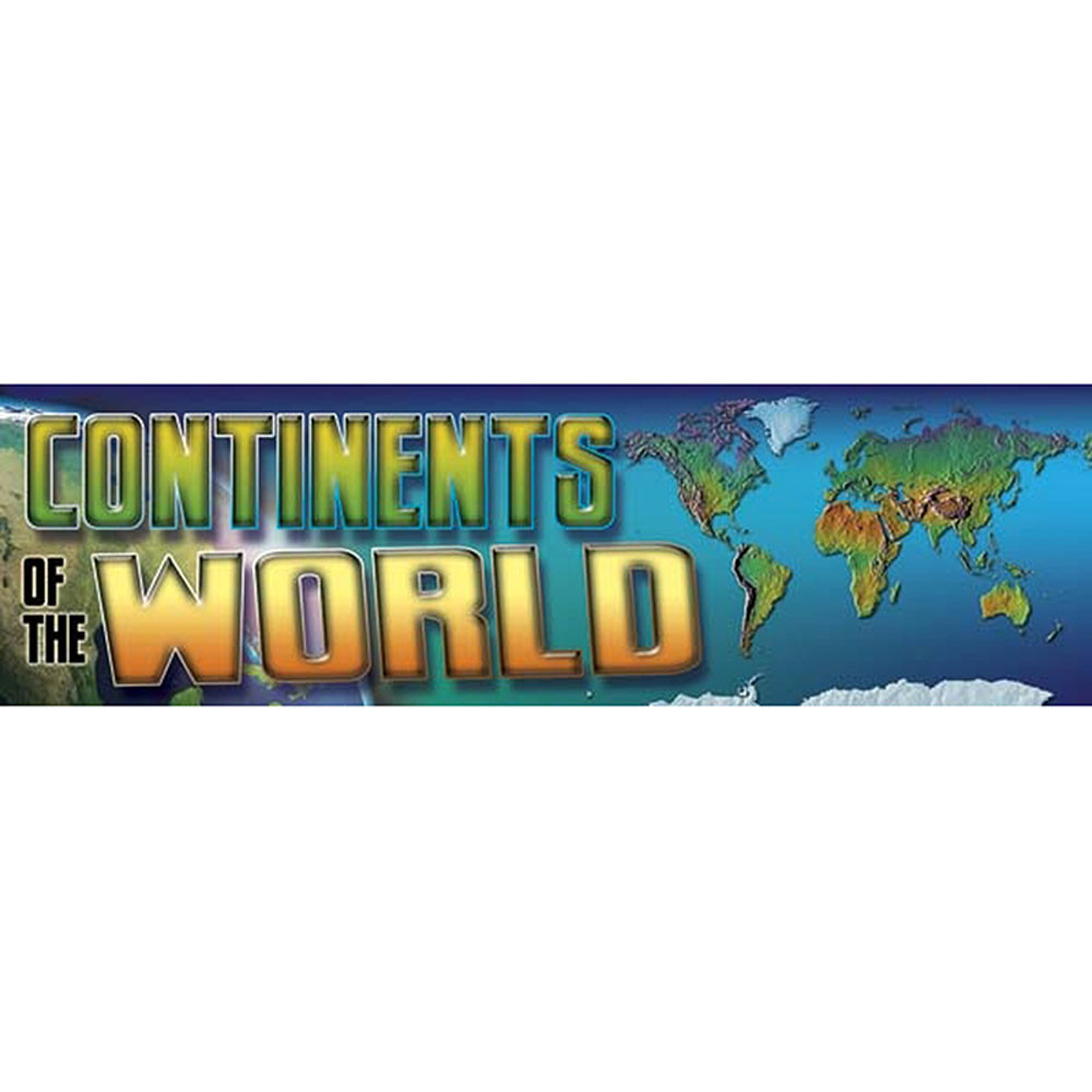 CD-410034 - Bbs Continents Of The World Gr 4-8 in Social Studies