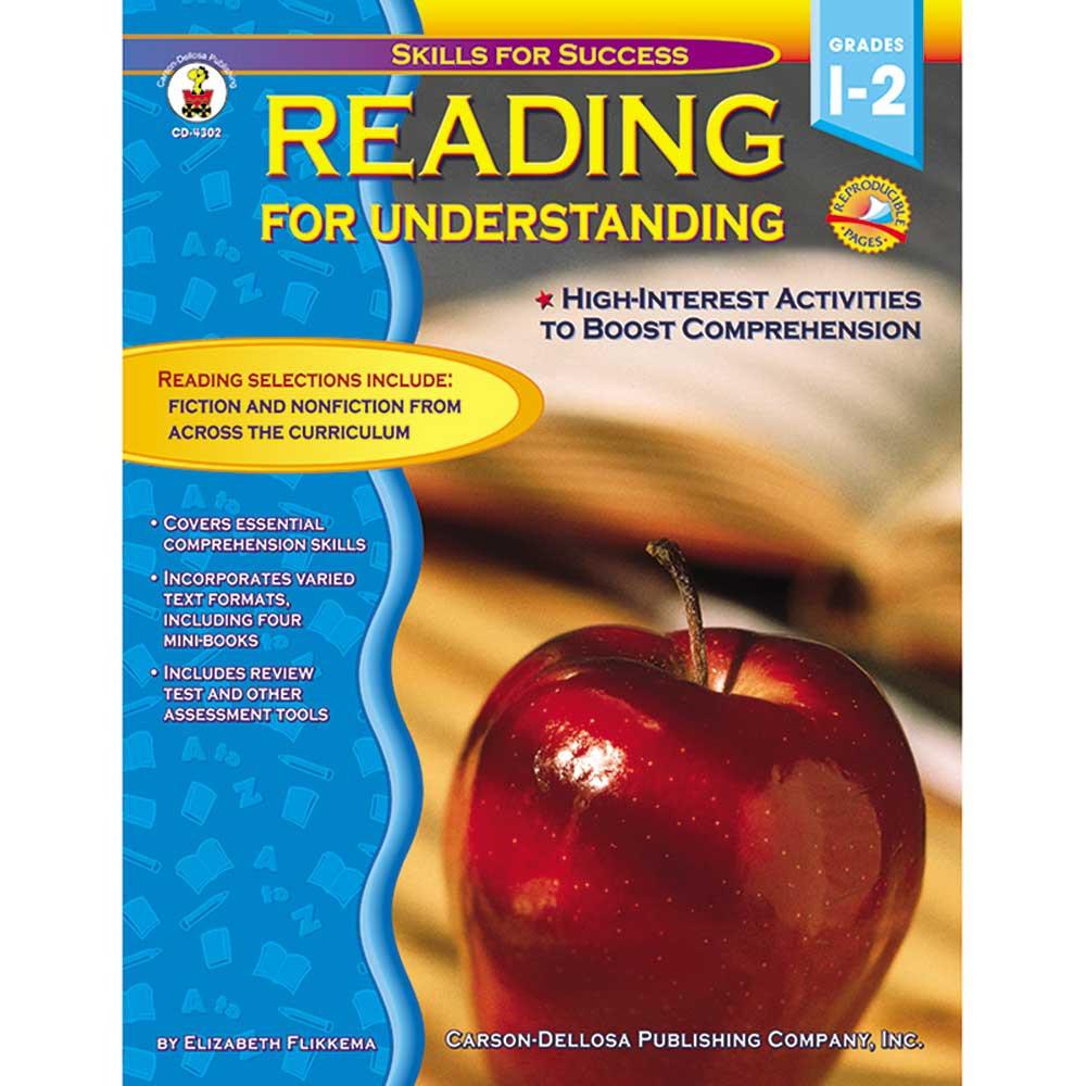 CD-4302 - Reading For Understanding Gr 1-2 in Reading Skills