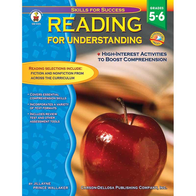 CD-4304 - Reading For Understanding Gr 5-6 in Reading Skills
