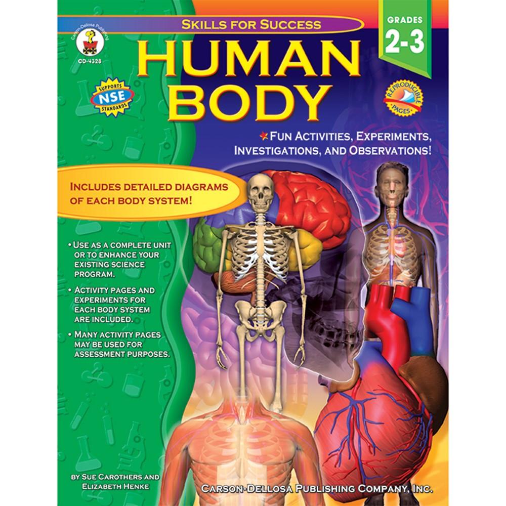Human Body Gr 2 3 Cd 4328 Carson Dellosa