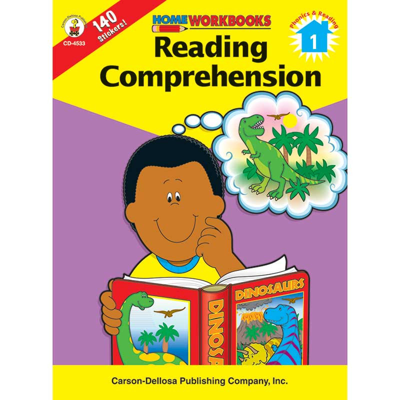 CD-4533 - Home Workbook Reading Compre 1 in Comprehension