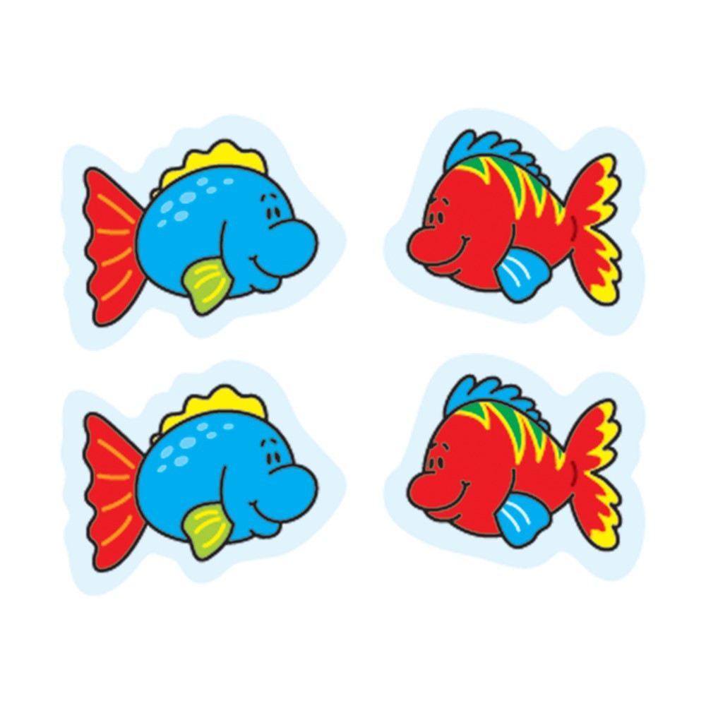 CD-5252 - Fish Stickers 144 Count in Stickers