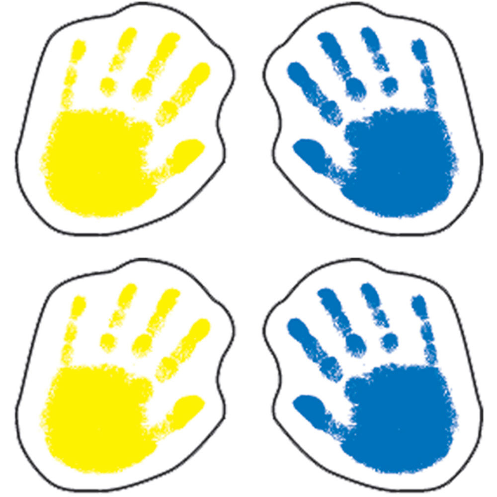 CD-5258 - Handprints in Stickers