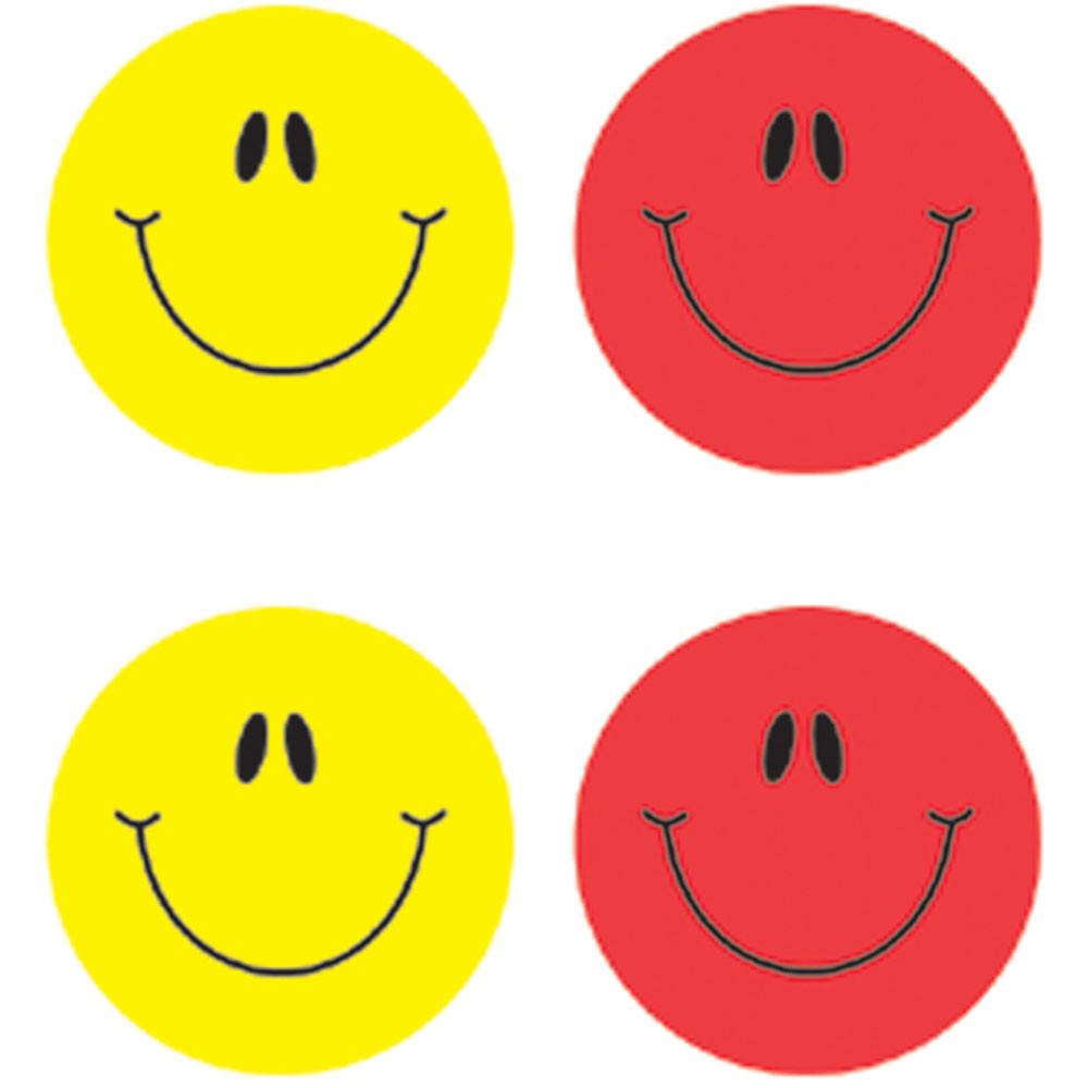 CD-5270 - Smiley Faces Multicolor in Stickers