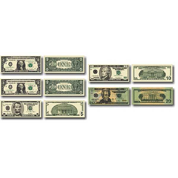 CD-5282 - Money Us Bills in Stickers