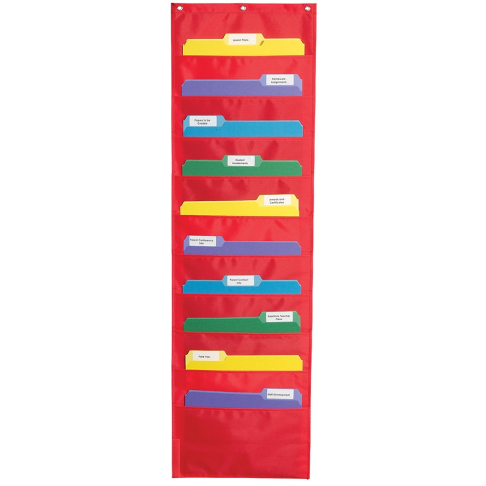 CD-5653 - Storage Pocket Chart in Pocket Charts