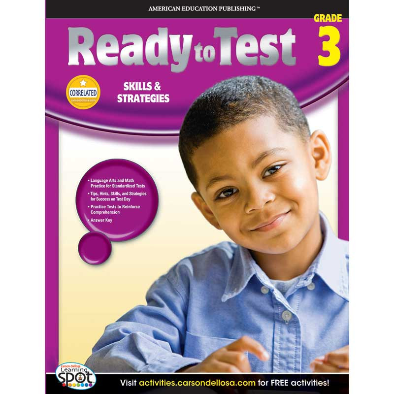 CD-704124 - Ready To Test Gr 3 in Cross-curriculum
