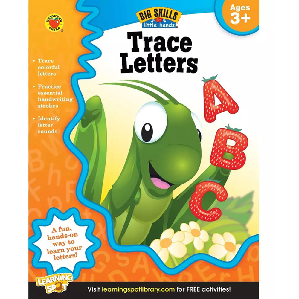 trace letters ages 3 5 cd 704235 carson dellosa With trace letters ages 3 5