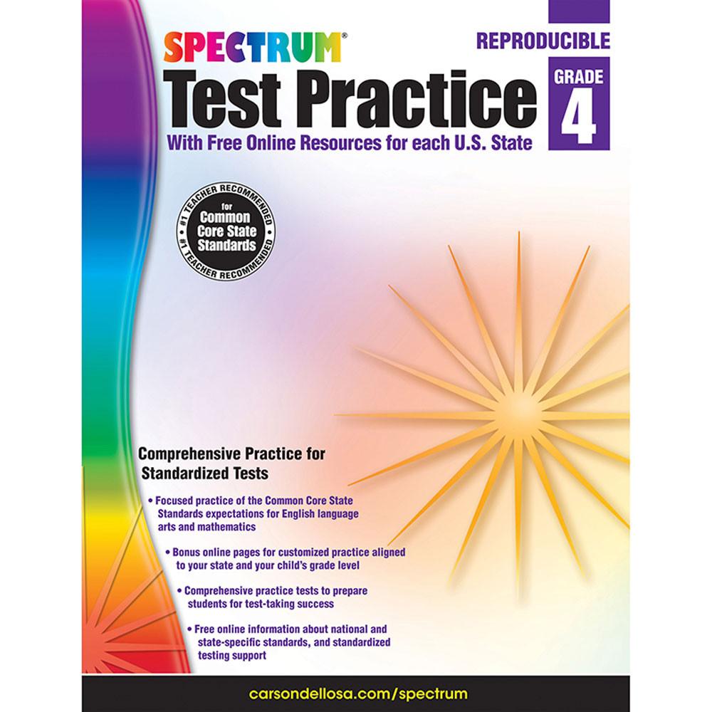 CD-704250 - Test Practice Workbook Gr 4 in Cross-curriculum