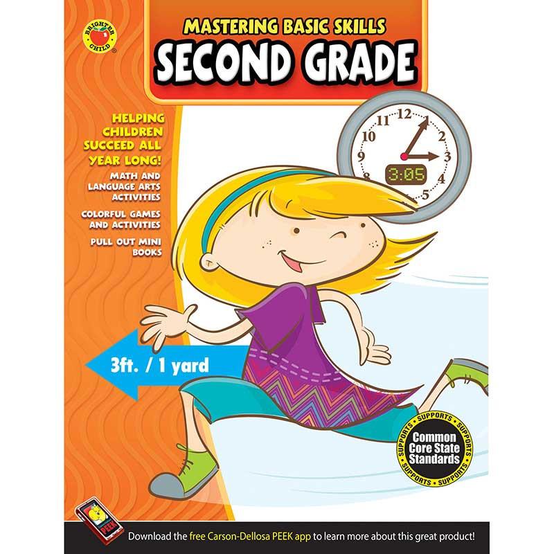 Mastering Basic Skills Second Grade Activity Book