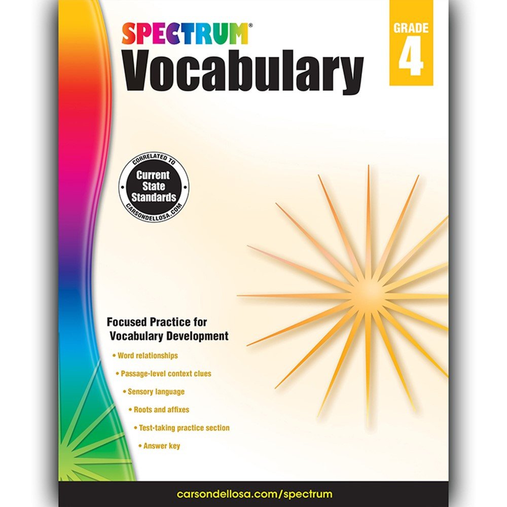 CLASSWORDS VOCABULARY GR 4