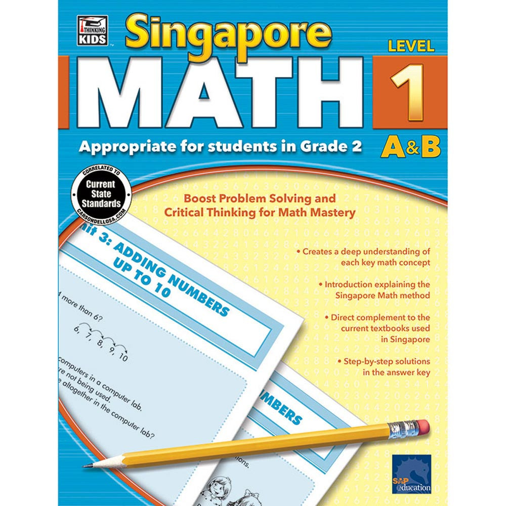 CD-704679 - Singapore Math Gr 2 in Activity Books