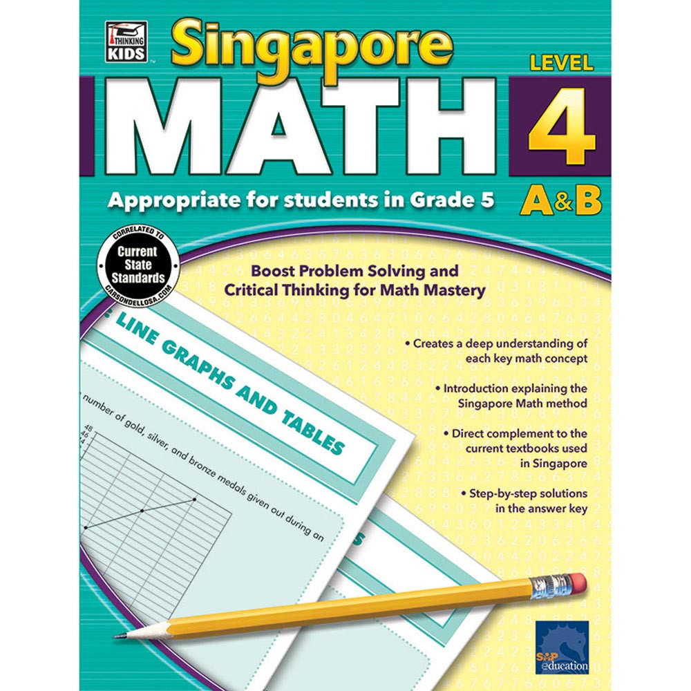 CD-704682 - Singapore Math Gr 5 in Activity Books