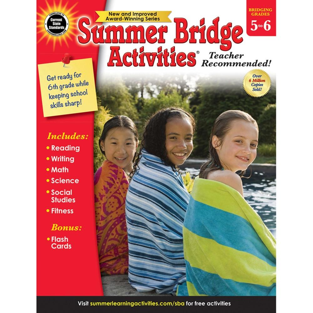 Summer Bridge Activities Workbook, Grade 5-6, Paperback ...