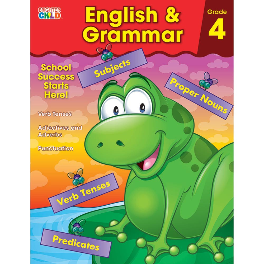 CD-704875 - English & Grammar Gr 4 in Grammar Skills