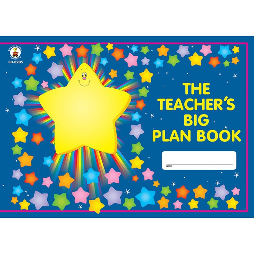 CD-8205 - The Teachers Big Plan Book in Plan & Record Books