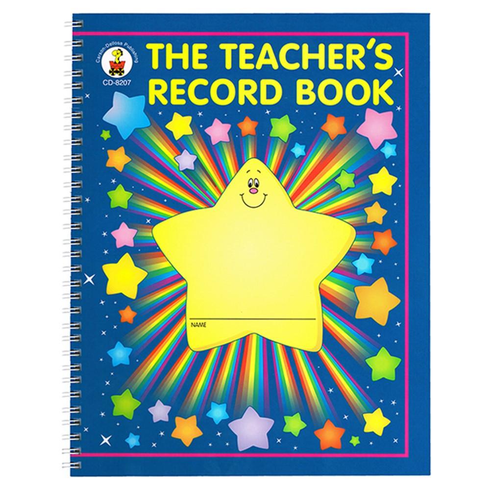 CD-8207 - The Teachers Record Book Gr K-5 8-1/2 X 11 in Plan & Record Books