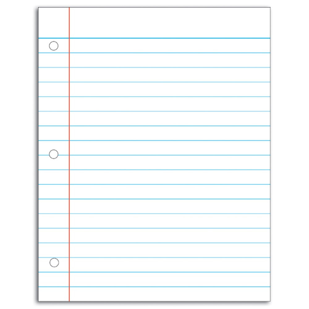 CD-8715 - Chart Notebook Paper 22.5X28.5 in Dry Erase Sheets