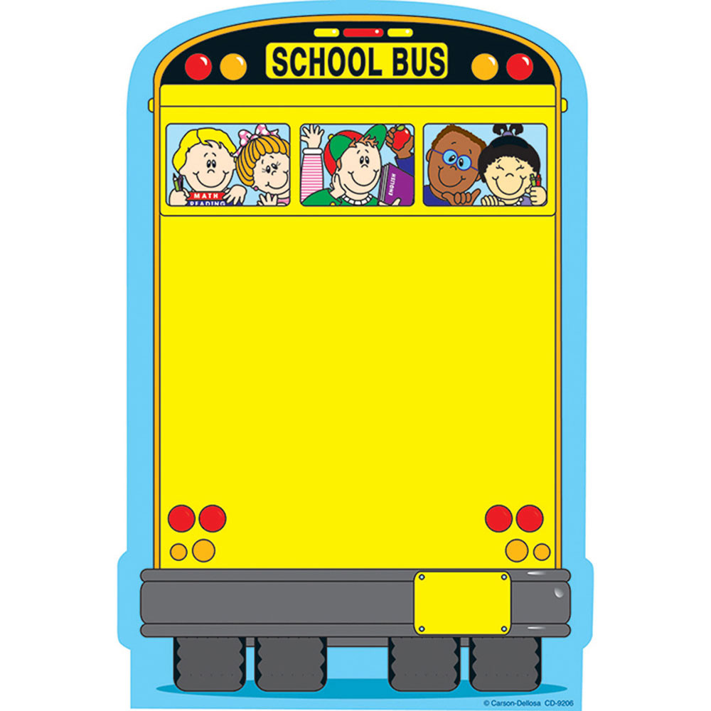 CD-9206 - Novel Note School Bus 50 Sheets in Note Pads