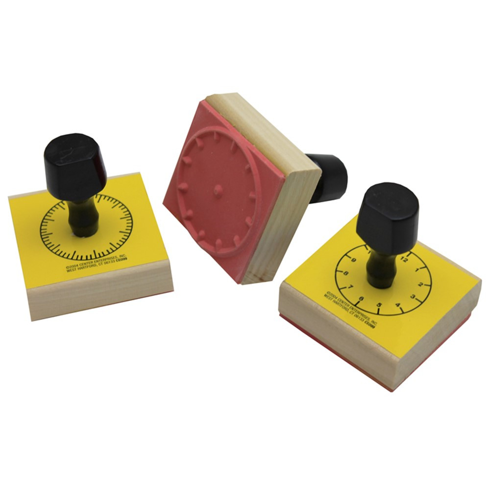 CE-099 - Stamp Set 3 Clock 5-Min/60-Min/Hour Numerals in Stamps & Stamp Pads