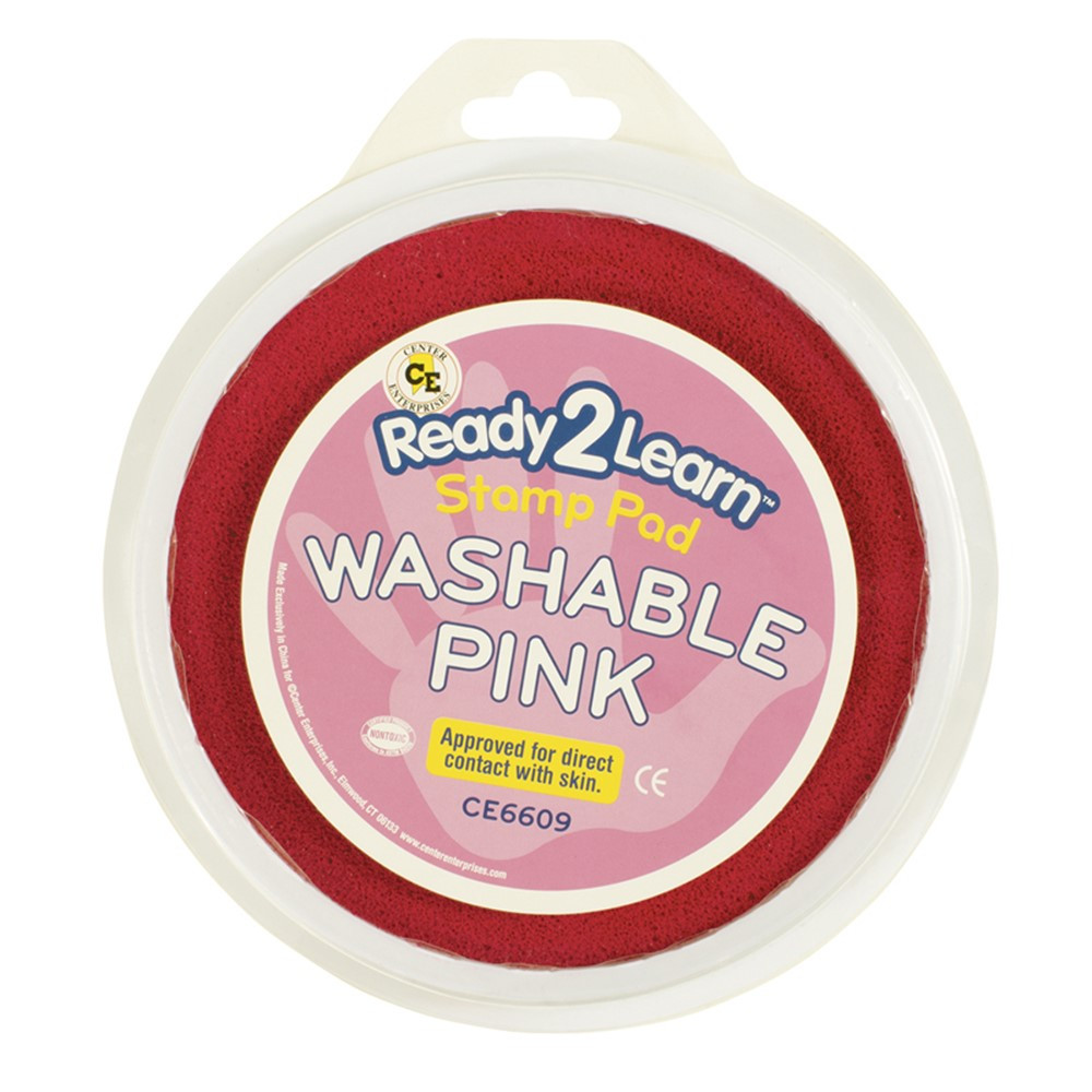 CE-6609 - Jumbo Circular Washable Pads Pink Single in Paint