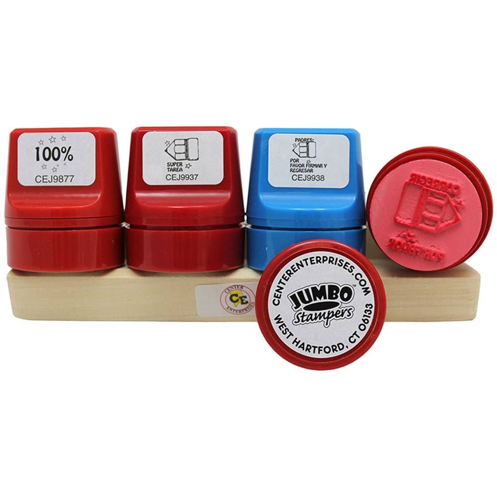 CE-J9905 - Jumbo Take Note Set Stamp Caddy Spanish in Foreign Language