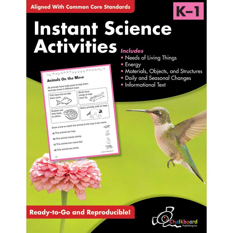 CHK13006 - Science Activities Gr K-1 in Activity Books & Kits