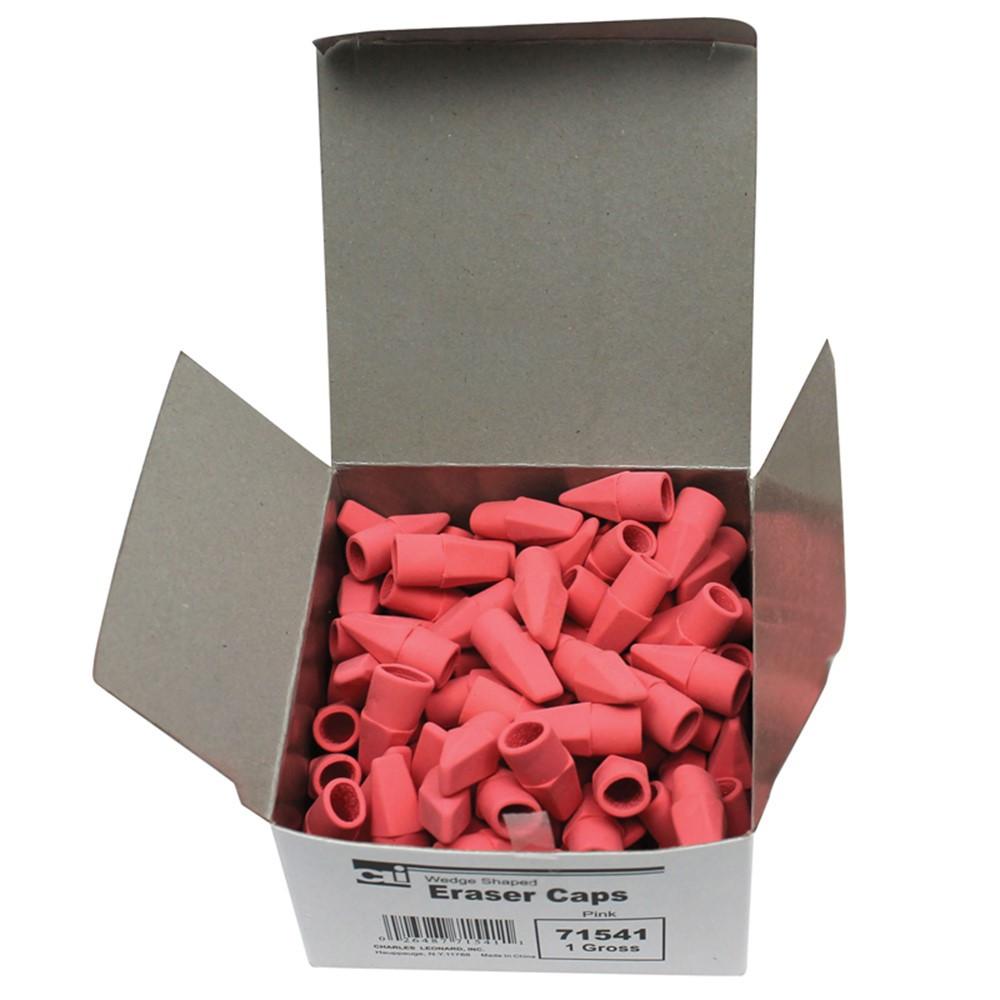 CHL71541 - Economy Eraser Caps Pink 144/Bx in Erasers