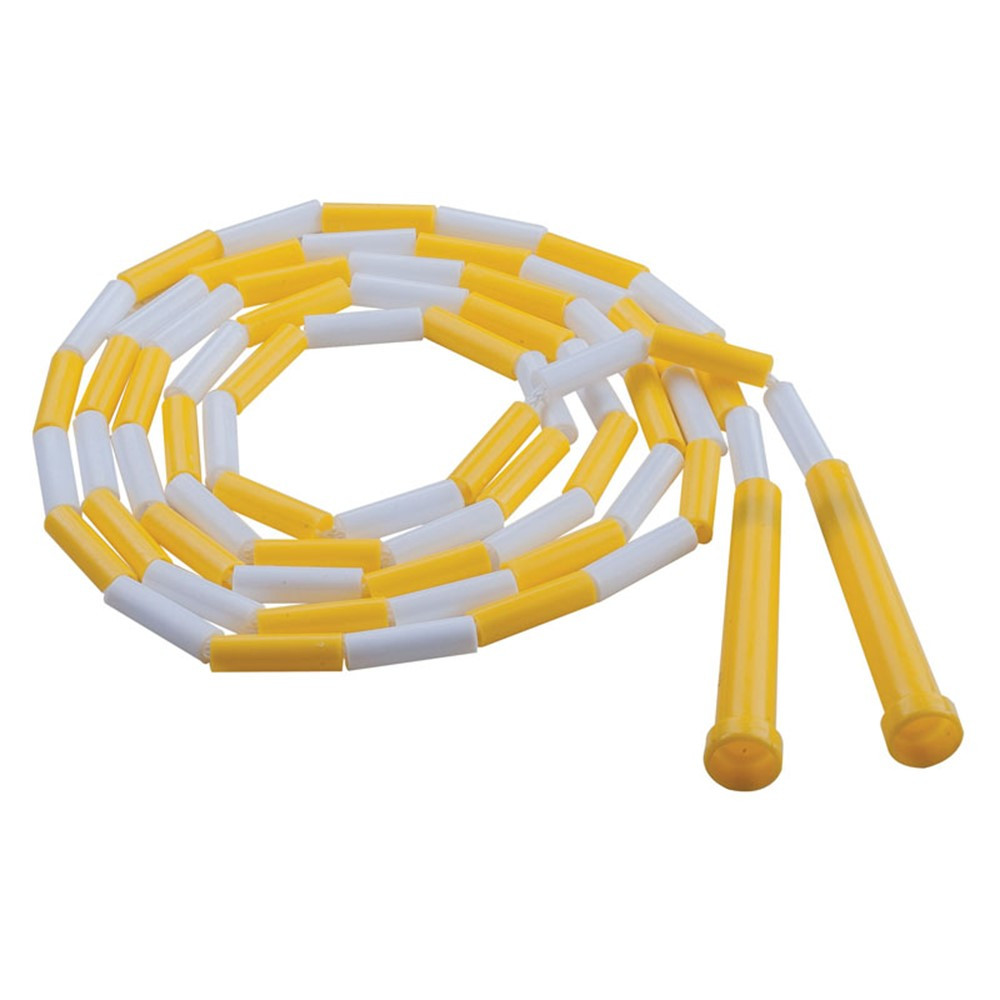 CHSPR8 - Plastic Segmented Ropes 8Ft Yellow & White in Jump Ropes