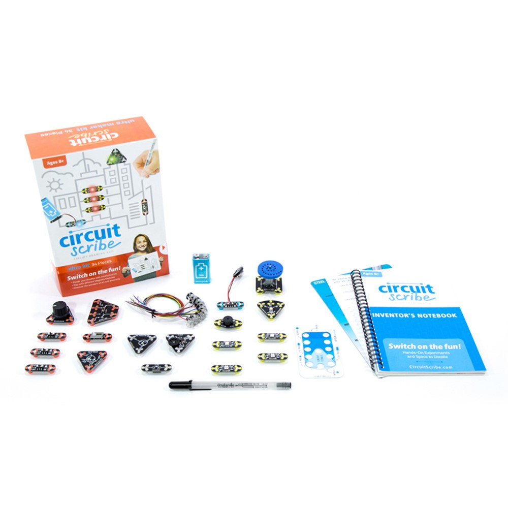 Ultra Kit - CIRCSKITULTRA | Electroninks Incorporated | Activity Books & Kits