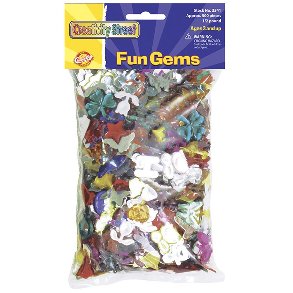 CK-3541 - Fun Gems in Sticky Shapes