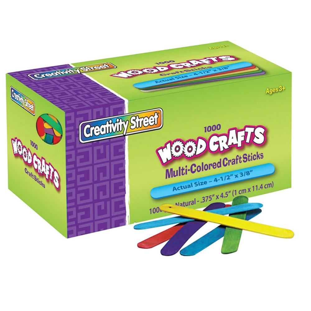 CK-377502 - Craft Sticks 4 1/2 X 3/8 1000 Cnt in Craft Sticks