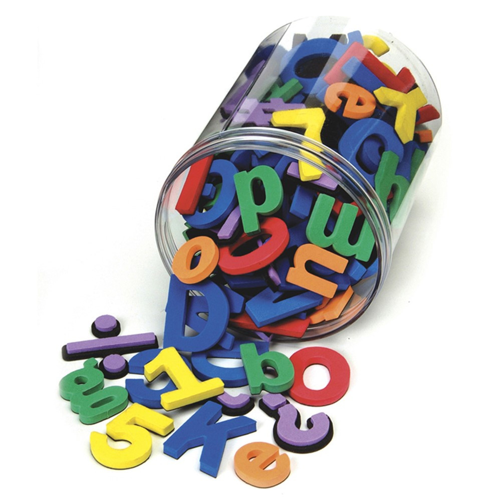 CK-4357 - Wonderfoam Magnetic Letters in Magnetic Letters