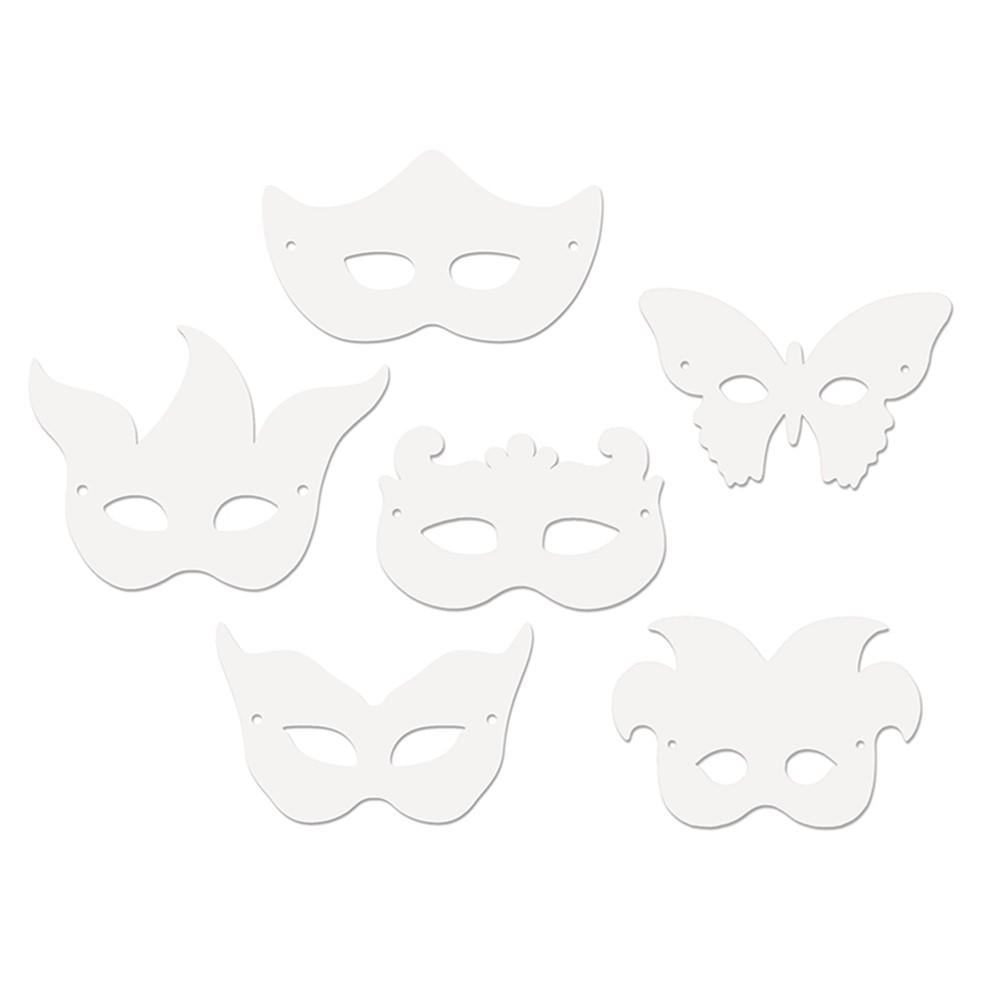 CK-4651 - Die Cut Mardi Gras Masks 24Pk in Art & Craft Kits