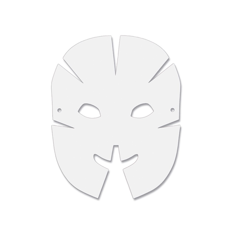 dimensional paper masks 40pk ck 4652 pacon corporation arts
