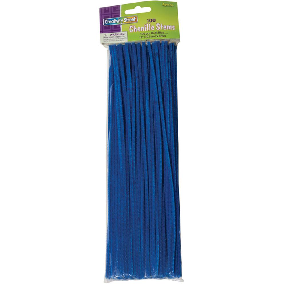CK-711210 - Chenille Stems Blue 12 Inch in Chenille Stems